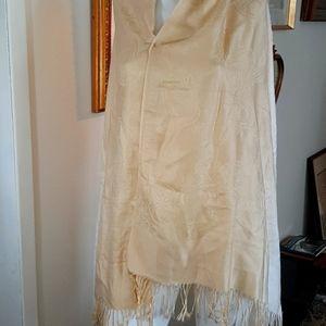 Silk Cashmere shawl